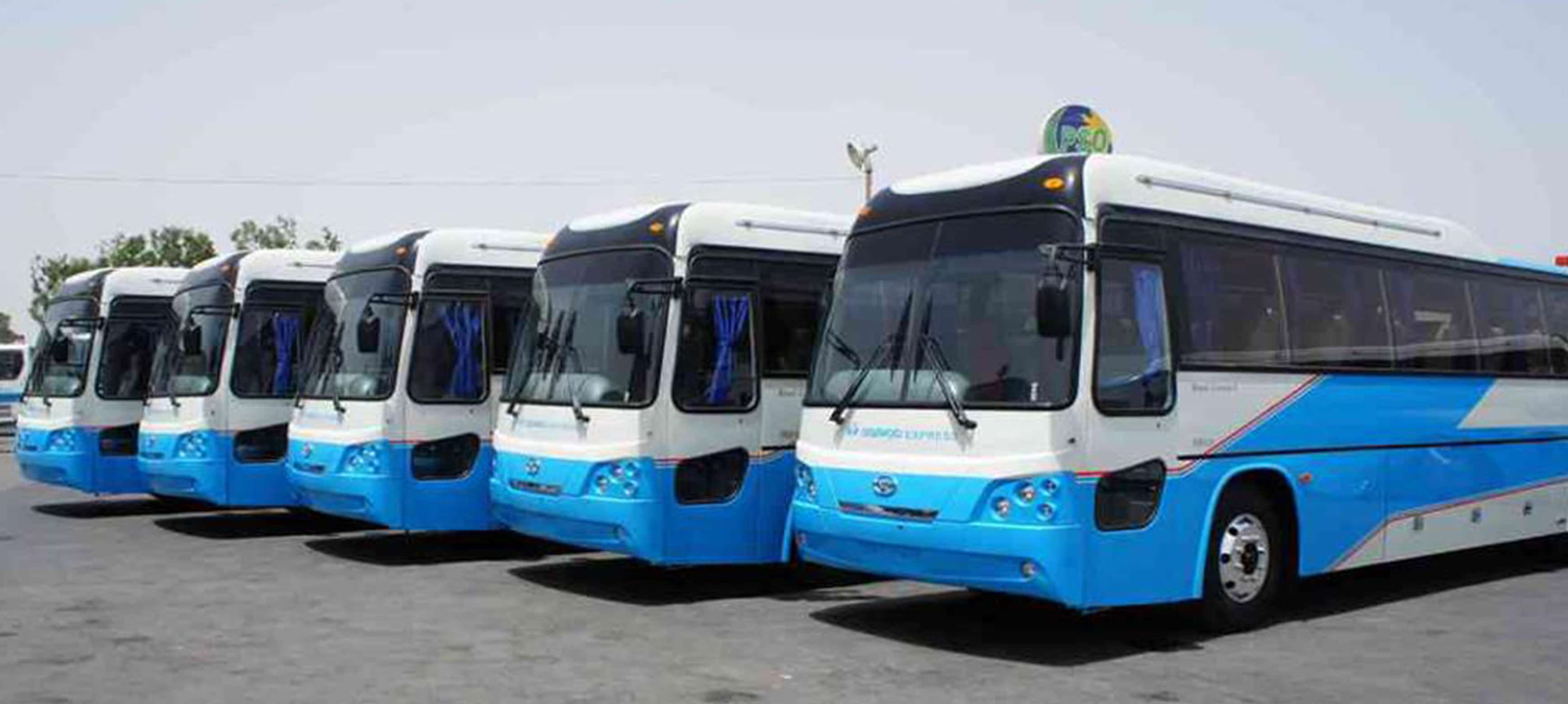 Daewoo Bus Luxury For Rent